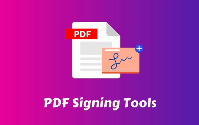 pdf signing tool