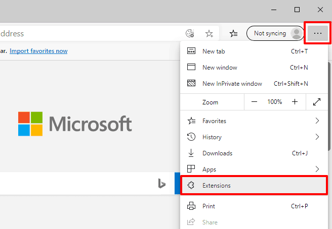 install chrome extensions on microsoft edge