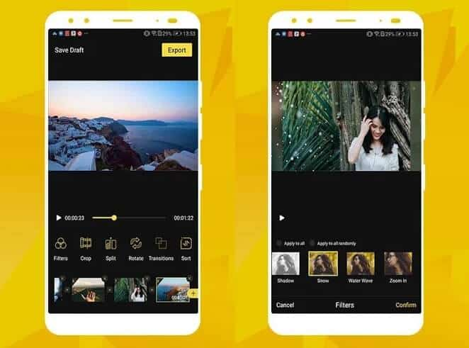 tik tok video editing app for android