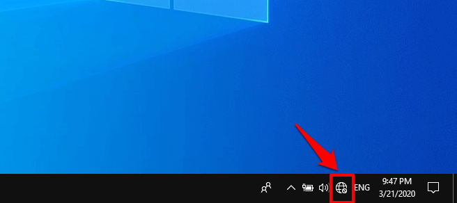 windows 10 wireless icon