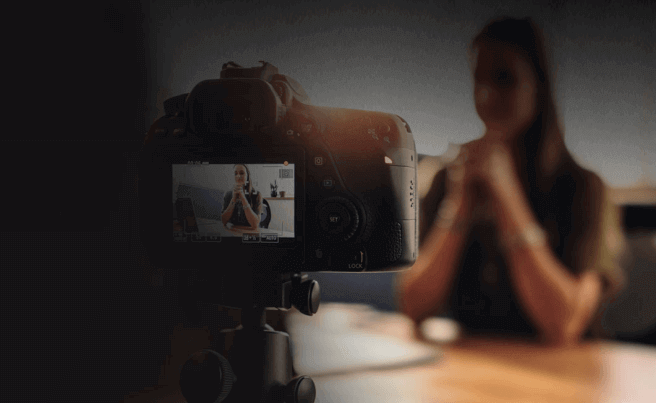 how to upload dslr videos on tiktok