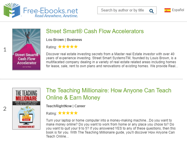 free ebook download sites