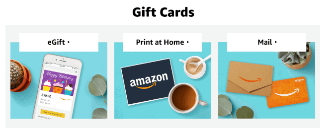 how to buy amazon gift cards