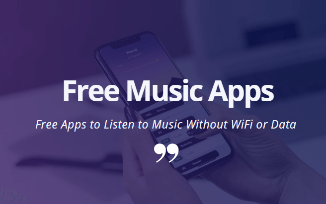 music apps that don't need wifi