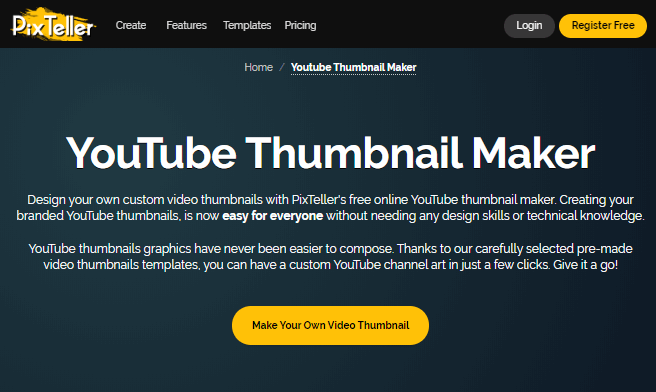 best online youtube thumbnail maker