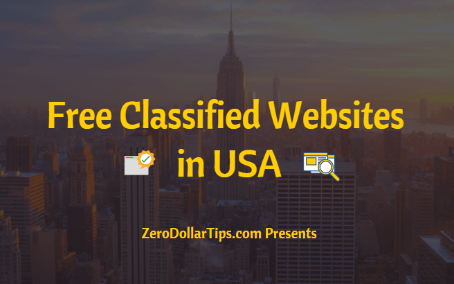 free classified websites in usa