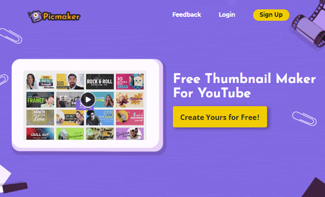 free online youtube thumbnail maker