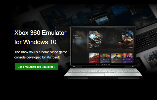 xbox 360 emulator for windows 10