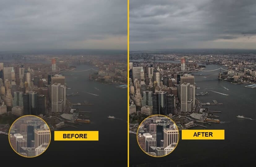 how to unblur a picture on windows 10