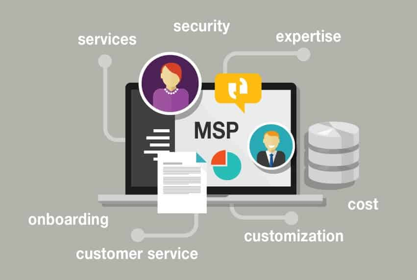 services offered by msp companies
