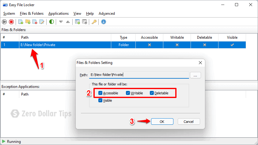 how to unlock a password protected folder in windows 11